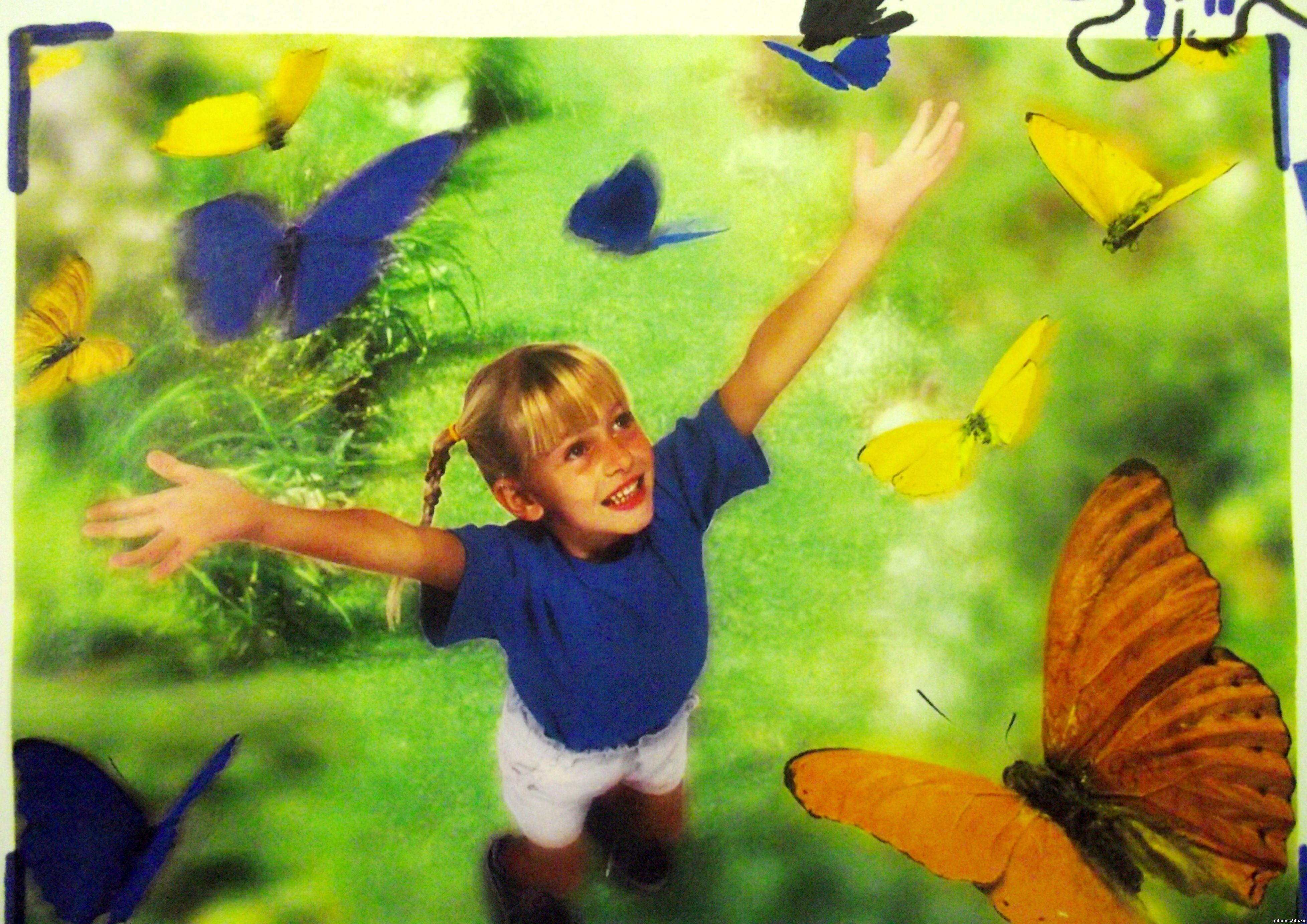 Рисунок счастье взглядом детей 6